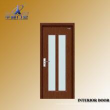 Portes intérieures en verre coloré en bois