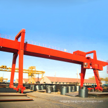 A-frame grua portico Chile gantry crane 10 ton