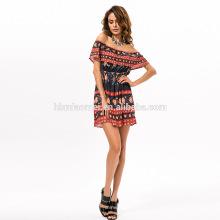 2017 Mais Recente moda sem mangas de baixo decote mais recente lace vestidos meninas padrões de moda vestido de renda