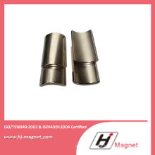 Maßgeschneiderte starke Arc NdFeB Magnet von Porzellanfabrik hergestellt