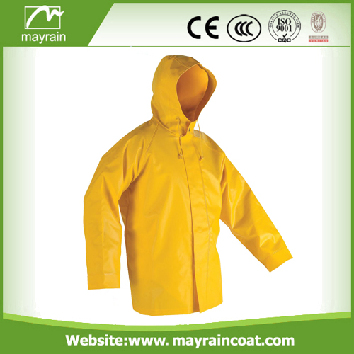 190T Polyester Kids Rainsuit