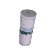 Envase redondo de la lata de la caja del vino de la envoltura para la promoción