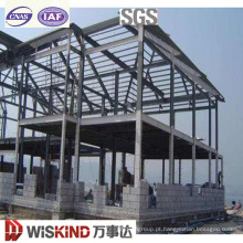 Estrutura de estrutura de aço leve pré-fabricada