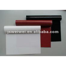 tissu de fibre de verre enduit par silicone ignifuge de couverture de silicone de 1mm