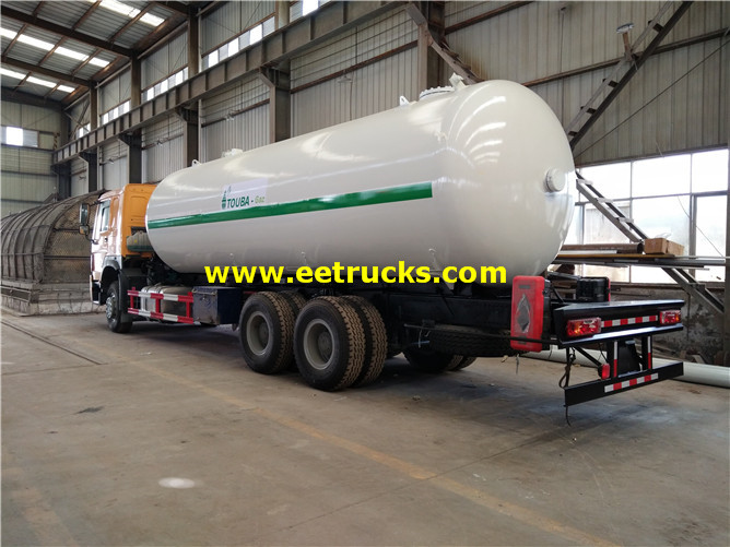 Propane Road Tanker Trucks