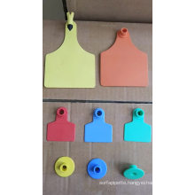 whosale price Poultry farming plastic cow ear tag ear tag animal cattle identified ear tag