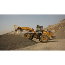 Front End Loader SEM652B Mini Дөңгелекті Loader