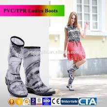 Новый дизайн модные женские сапоги дождя