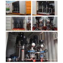Système de pompe d'alimentation en eau à forte fluidité d'urgence