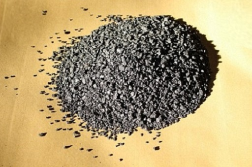 Special graphite for friction material