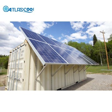 20ft solar power container cold storage room