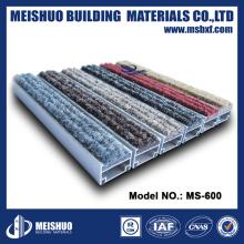 Alfombras al aire libre para alfombras de entrada de aluminio