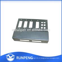 Emboutissage des boîtiers électroniques en aluminium Oem