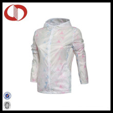 100% Polyester Women Sports Jacket Custom Running Jacket