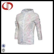 100% полиэстер женская спортивная куртка Custom Running Jacket