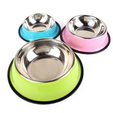 Dog Bowl Travel Pet Dry Food Cat Bowls