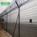 Anti Climb Pagar Keamanan Airport Barbed Wire Fence