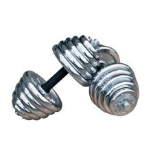 Hotsale Sport 10кг 20кг 30кг регулируемый набор гантелей хром