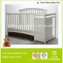 модный дизайн сплошной сосновый лес Детская кроватка/кровать