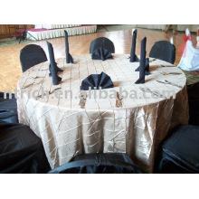 Wedding Pintuck Table Cloth