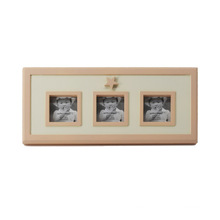 Natural Baby Wooden Collage Frame for Wall Hanging
