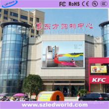 P10 Multi Color LED Videowand im Freien auf dem Shopmall
