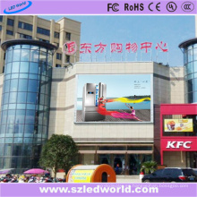 P10 Multi Color LED Video Wall Outdoor en el Shopmall