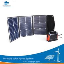 DELIGHT DE-PS 60W Système d'alimentation solaire portable