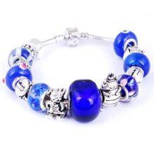 Hot-Sale Fashion Alloy Glass Beads Bracelets