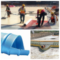 Verrouillage d'incrustation en HDPE en plastique Embout en géomembrane Geo Lock