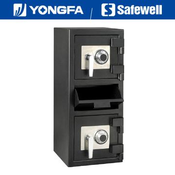 Série de Safewell Ds 32 polegadas de altura depósito seguro para o banco do casino do supermercado