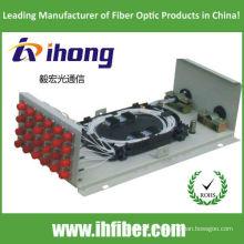 Caixa de parede ODF FC12 com adaptadores e tranças