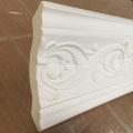 Moldura de cornisa decorativa de espuma de poliuretano