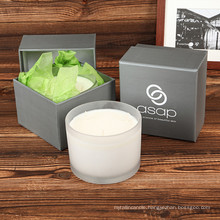 Aroma Favorable Pure Soy Art Candle with Cotton Wick