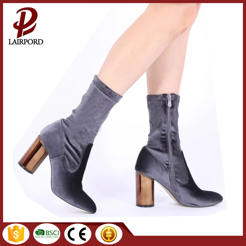 women faux suede short ankle boots