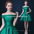 зеленый плеча длина до колен узоры кружева вечернее платье