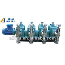 Leading for Jzr Series Plunger Metering Pumps 4J-Z Multi-Pump Heads Chemical Piston Metering Pump supply to Ethiopia Factory