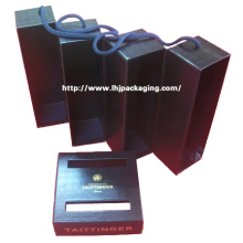 High Quality Two Bottle Gift Wine Paper Box