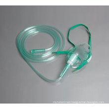 Sterile Medical Single Use Simple Oxygen Mask