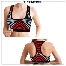 Vier-Wege-Stretch-Sport-Bekleidung Großhandel Yoga-BH für Frauen
