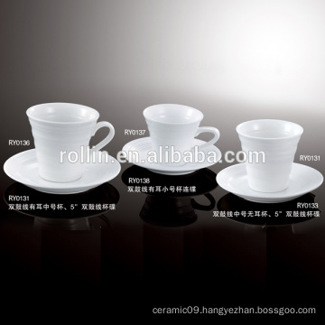 Italian Design Square Coffee Cup, Souvenirs Ceramic Espresso Cup, Gifted Boxes Cup for Hotel & Restaurant