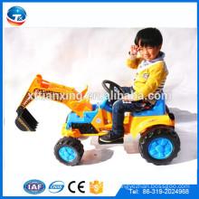Elektrisches Fahren auf Auto-Batterie-Installationssatz-Auto-Kind-Spielzeug-Exkavator mit Musik