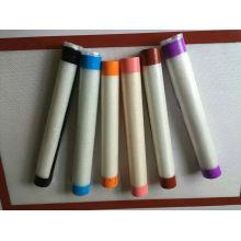 Folha de cozimento colorida do silicone do produto comestível da borda