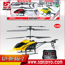 Cheap 2 Channel RC helicopter toys for kids electric flying airplane toys