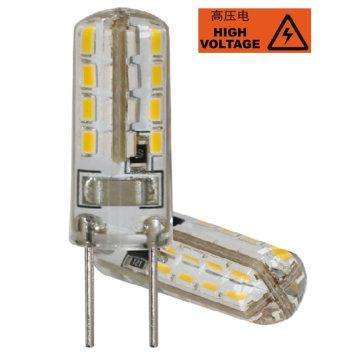 Gu5.3 220V 3014 32LED Silicon LED Auto Bulb