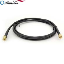Varón de alta calidad de SMA al cable coaxial RG58 del varón de SMA RF