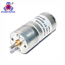 6V hot selling round spur gear motor for soap dispenser