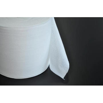 Toallitas de limpieza médica Spunlace Tela no tejida