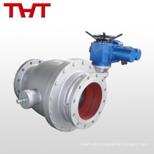 motorized discharge electric ball valve for solar heating