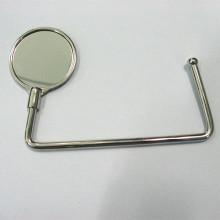 Gancho barato del monedero del metal de la promoción de la aleación caliente del cinc (F2002)